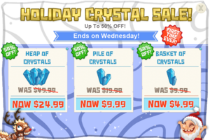 Modals holidayCrystalSale Android v2@2x