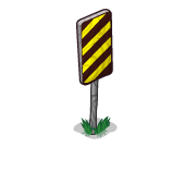 Decoration roadsignssmall caution3 thumbnail@2x