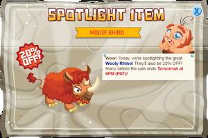 Modal spotlight woollyrhino@2x