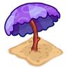 Decoration beachumbrella purple thumbnail@2x