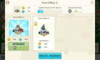 Deco PostOffice screen Information-PO2