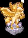 Decoration yellowunicornstatue@2x