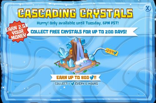 Modals CrystalWaterfall@2x