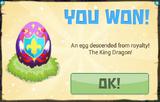 RoyalEgg PrizeNotification