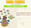 Dino Week Theme: August 2013