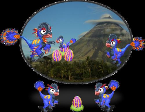 Nomingia Dino diorama