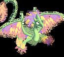 Flower Petal Dragon