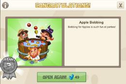 Spooky 3 applebobbing