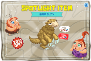 Modals spotLightItem giantsloth jul15