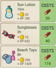RecipeMenu SunnyBeachStore