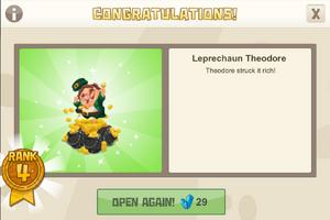 Rank 4 leprechaun theodore