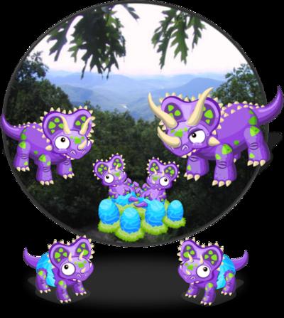 TriceratopsDinoDiorama