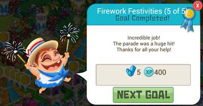 Fireworks 5CrystalReward