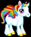 Cubby pegasus rainbow single