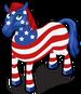 Patriotic Horse single
