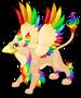 Rainbow griffin single
