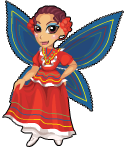 Folklorico fairy static