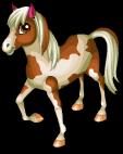 Paint horse static