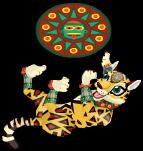 Aztec jaguar an