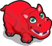 Red Hippo single