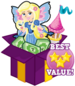 Booster pack rapunzel fairy