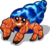 Hermit crab single