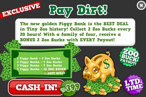 PiggyBank modal