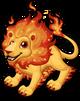 Fire lion single