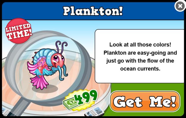 Plankton modal