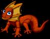 Frilled Lizard single