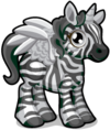 Cubby Pegasus Black and White single