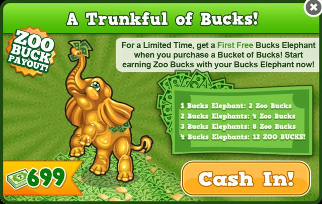 Bucks elephant modal