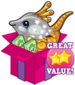 Booster pack jewel fish