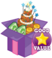 Cake booster pack