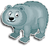 Goal himalayan blue bear icon