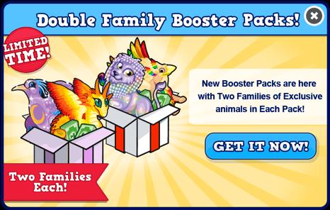 Booster pack october modal