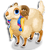 Goal tibetan sheep icon