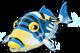 Picasso triggerfish single