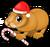 Christmas hamster single