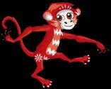 Zodiac monkey an