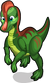 Corythosaurus single