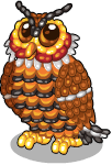 Jelly bean owl static
