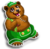 Goal lederhosen bear icon