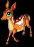Bambi deer static