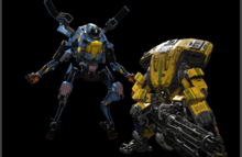 Titanfall 2 Prime Northstar and Legion