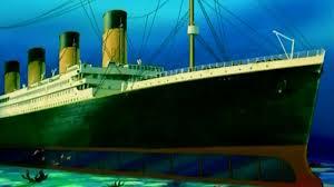 In Search of the Titanic Scene