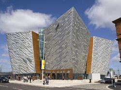 Titanic Belfast side view