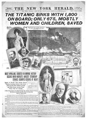 File:Titanic-New York Herald front page.jpeg
