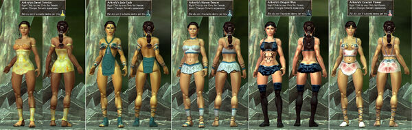 Arkeyla SweetSunrise-JadeLady-HaremDancer-DragonBlue-GrecianFlower