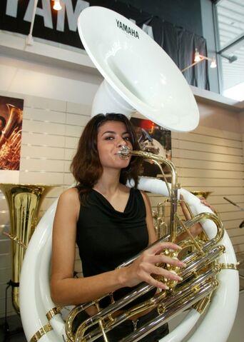 File:Girl Playing Tuba.jpg